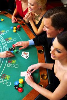 People Playing Blackjack