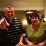 Barb and Eric are ready to play craps with Upstate Vegas Events