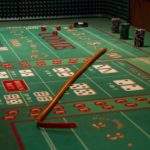 The craps table is ready for a Rochester fundraiser