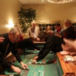 There is always lots of gaming action at Upstate Vegas Events